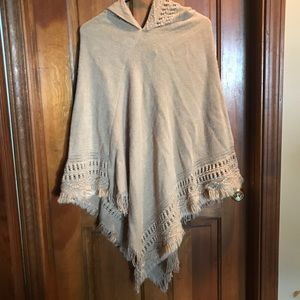 Sweaters - Sweater Poncho | One Size